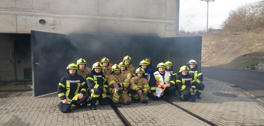 09.03.2019 – Realbrandausbildung an der Thüringer Feuerwehr- und Katastrophenschutzschule in Bad Köstritz