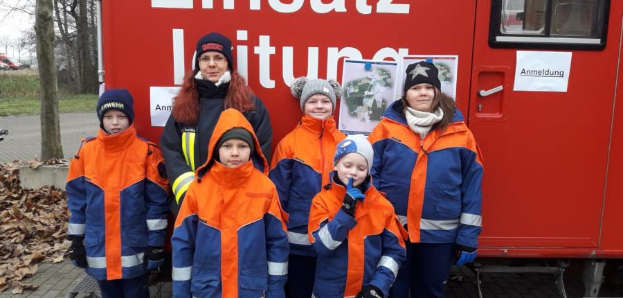 25.01.2020 – Winter-Geländespiel der Thüringer Jugendfeuerwehren in Gera-Aga