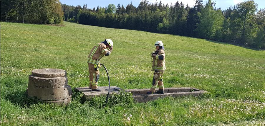 Einsatz 21.05.2020 – brennender Schacht