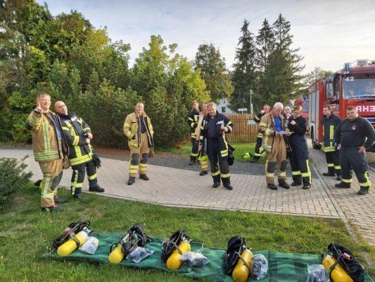 17.-19.09.2020 Fortbildung der Führungskräfte und Atemschutzgeräteträger der Feuerwehr Zeulenroda-Triebes mit Lars Seeger von atemschutzunfälle.eu