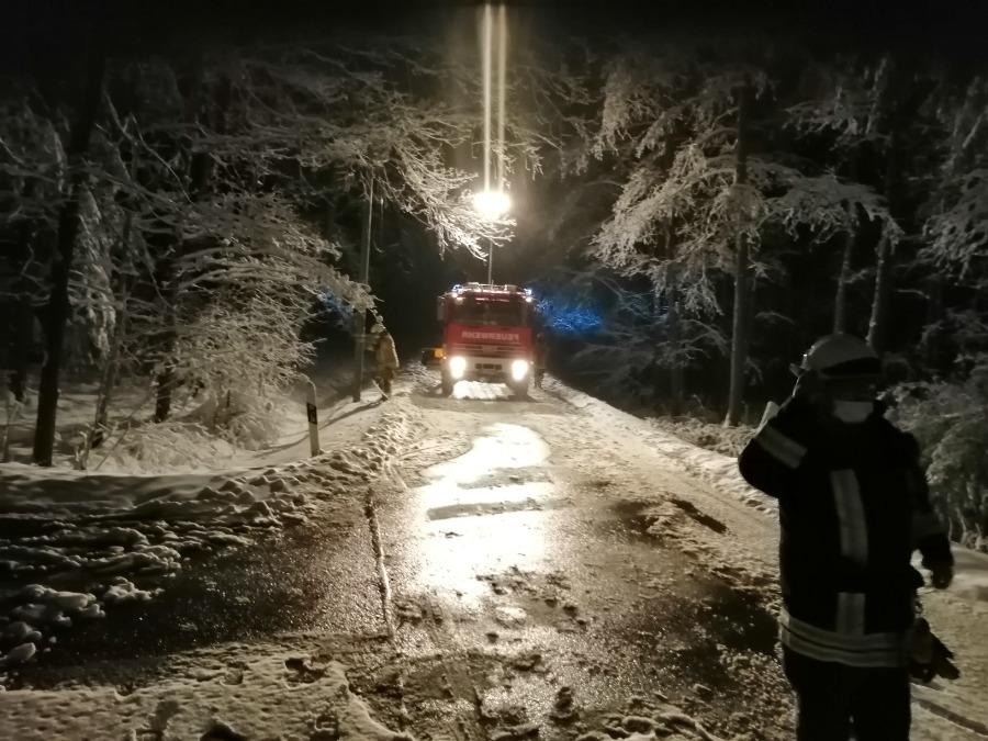 05.01.2021 – Alarmierung Feuerwehr Bernsgrün