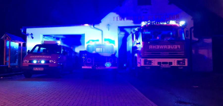 04.02.2021 – Teilnahme an der Challenge #bluelightfirestation